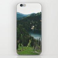SIAMESE LAKES MONTANA iPhone & iPod Skin