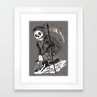 Mobile Death Squad Framed Art Print