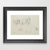 Dozing Off Framed Art Print