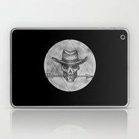Dead Sheriff on dark Laptop & iPad Skin