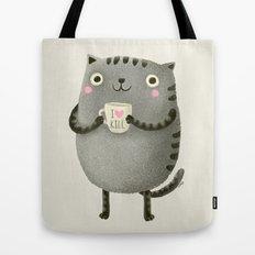 I♥kill (brown) Tote Bag