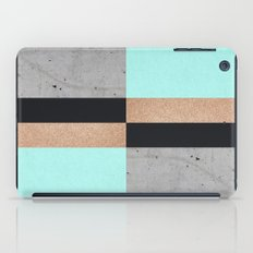 Abstract Turquoise Pattern iPad Case