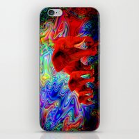 Psychedelic Pachyderms iPhone & iPod Skin