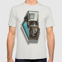 home bird Mens Fitted Tee Silver SMALL