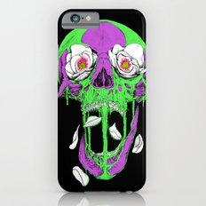 Swamp Skull Color iPhone 6 Slim Case