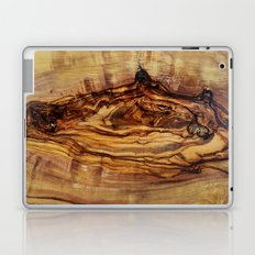 olive tree wood Laptop & iPad Skin