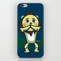Cowardly Lion iPhone & iPod Skin