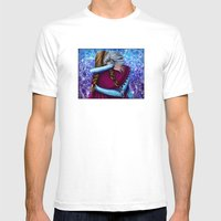 Anna And Elsa ~Frozen Mens Fitted Tee White SMALL
