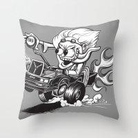Doc Fink Throw Pillow