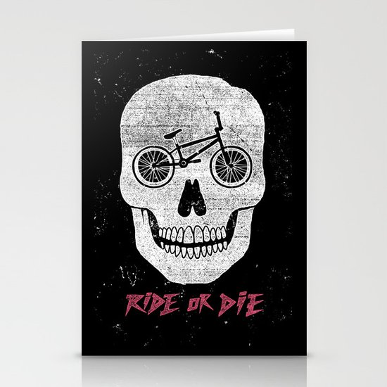 Ride Or Die Stationery Card