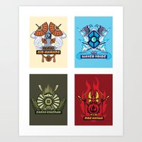 AVATAR NATIONS SERIES FU… Art Print