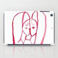 kissing nuns iPad Case