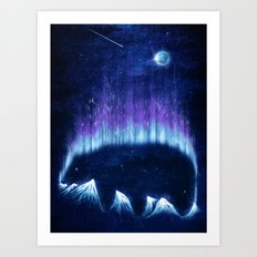 The Alaskan Grizzly Art Print