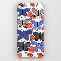 Butterflies Butterflies iPhone & iPod Skin
