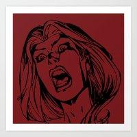 Bride Of The Monster Art Print