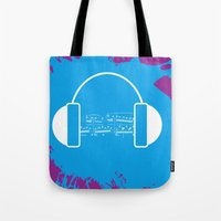 The Music Brain Tote Bag