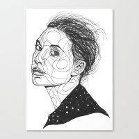 Lykke Li Canvas Print