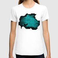 Patronus in a Dream Womens Fitted Tee White SMALL