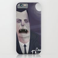 iPhone & iPod Case featuring Count Dracula by Crooked Octopus