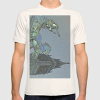 Big Ben And Boadicea Mens Fitted Tee Natural SMALL