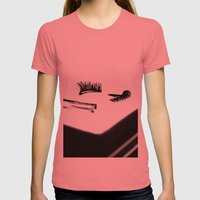 Don't Drag Womens Fitted Tee Pomegranate SMALL