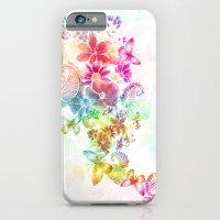 paisley flutter iPhone 6 Slim Case