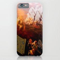 VINTAGE-Pirates Slim Case iPhone 6s
