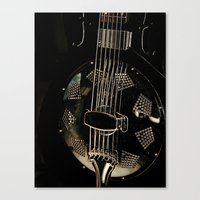 Resonator Canvas Print