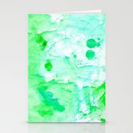 Watercolor Series #4G Stationery Cards