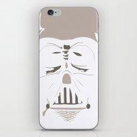 Ghost Darth Vader iPhone & iPod Skin
