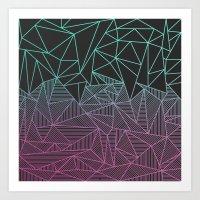 Beau Rays Art Print
