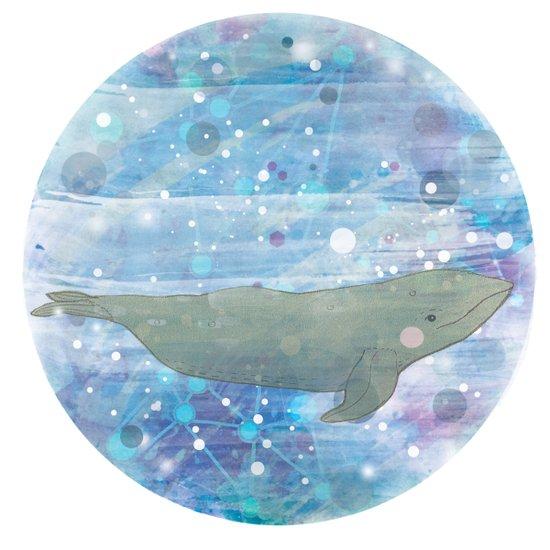 Illustration Friday: Round Canvas Print