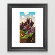 Vale Framed Art Print