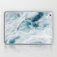 sea - midnight blue storm Laptop & iPad Skin