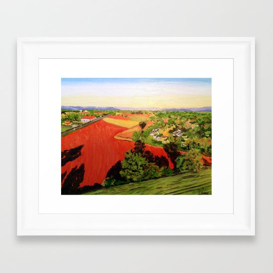 Elevation Framed Art Print