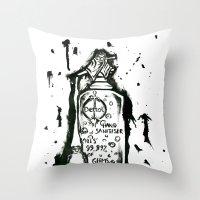 Dettol Throw Pillow