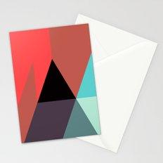 Black Triangle & Reds Stationery Cards