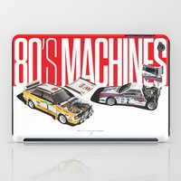 80's Machines iPad Case