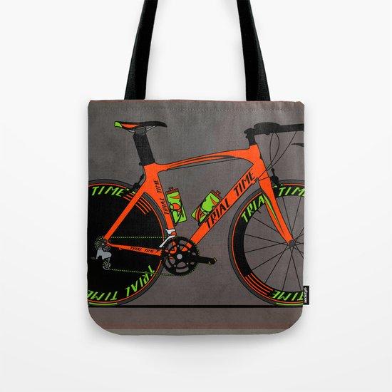 Time Trial Bike Tote Bag