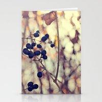 Autumn Sun in Ohio Stationery Cards