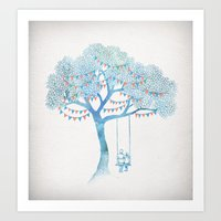 summer Art Prints featuring The Start of Something by David Fleck