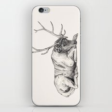 Stag // Graphite iPhone & iPod Skin