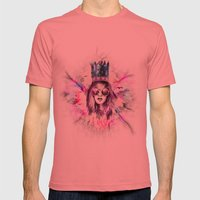 California Dreaming Mens Fitted Tee Pomegranate SMALL