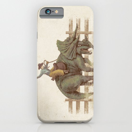 Dino Rodeo  iPhone & iPod Case