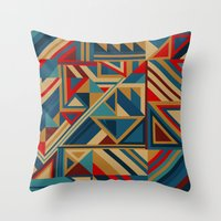 Colorgraphics I Throw Pillow