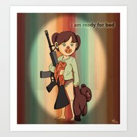 Children Nowadays Art Print