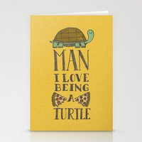Being A Turtle Stationery Cards