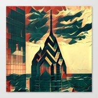 Philadelphia Prisms Canvas Print