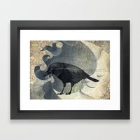 From a raven child Framed Art Print