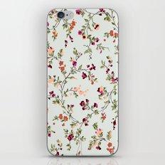floral vines - neutrals iPhone & iPod Skin